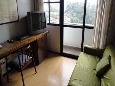 Flat Em Morumbi, São Paulo/sp De 35m² 1 Quartos Para Locação R$ 2.000,00/mes - Fl74684