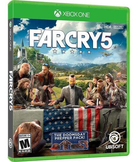 Farcry 5 Xbox One Original Midia Fisica Dublado Português Br
