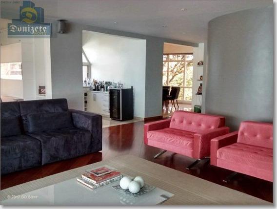Apartamento Com 4 Dormitórios À Venda, 356 M² Por R$ 2.300.000,01 - Jardim - Santo André/sp - Ap3110