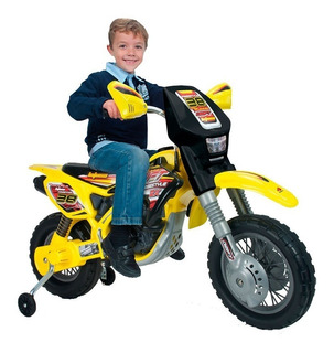 Moto Electrica Montable Infantil Thunder Vx Max 12v Injusa