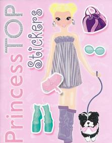Princess Top - Stickers Rosa