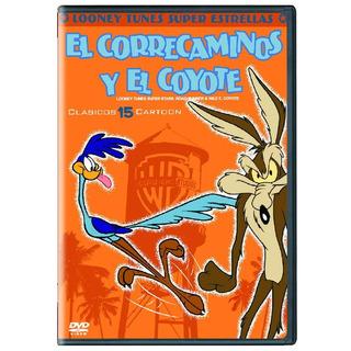 Looney Tunes Super Estrellas Correcaminos Y El Coyote Dvd