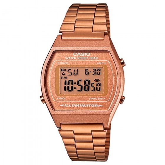 Relógio Casio Feminino B640wc-5adf Dourado Rosê - Refinado