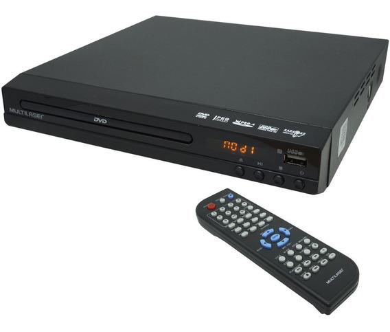 Dvd Player Hdmi Hd 5.1 Rca Usb Mp3 Função Karaoke Multilaser