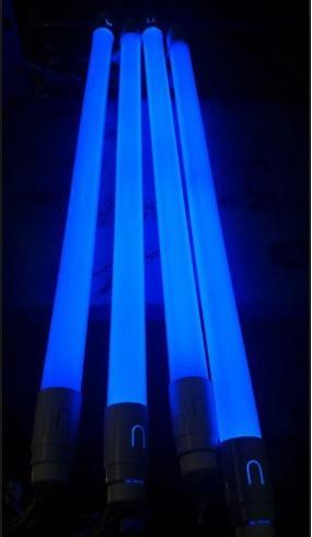 Tubular Led T8 18w 1,20 Cm Bivolt - Azul