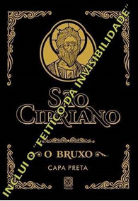 Livro Sao Cipriano Capa Preta 446 Pg
