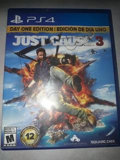 Just Cause 3 - Juego Playstation4 Físico.