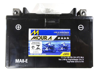 Bateria Moura Ma8-e Suzuki Gsx650f Gsx 650f Gsx750f Gsx 750f