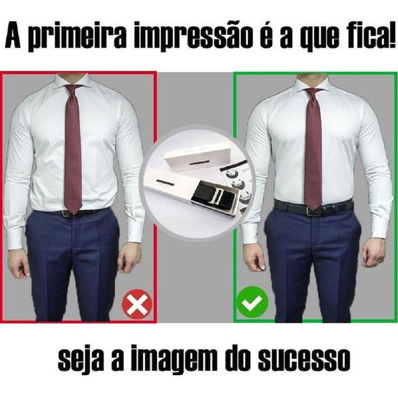 Cinto Camisa Social Acessorio Calça Couro Elástico Blazer