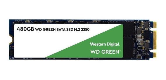 Ssd 480gb M.2 Wd Green 2280 Sata 3 Wds480g2g0b