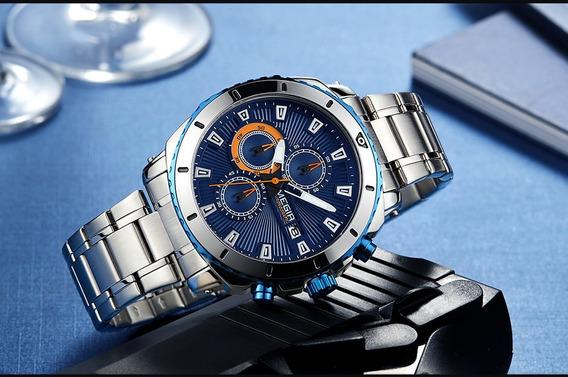 Relógio Masculino Megir Original Pronta Entrega Modelo 2075
