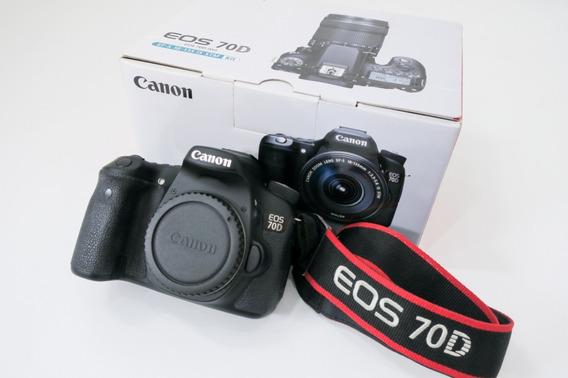 Câmera Canon 70d - Eos Digital
