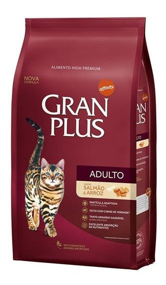 Gran Plus Gato Adulto Salmao 10,1kg