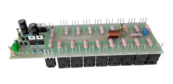 Placa Montada Para Amplificador De Audio 1600w Rms 2 Ohms