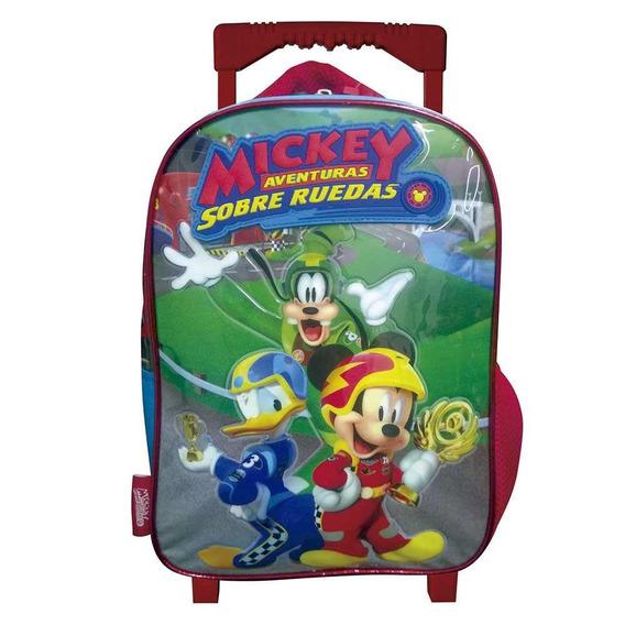Mochila De Carro Mickey Km720 Disney Original 12