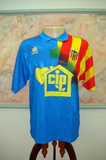 Camisa Futebol Valencia Espanha Luanvi Antiga 1017