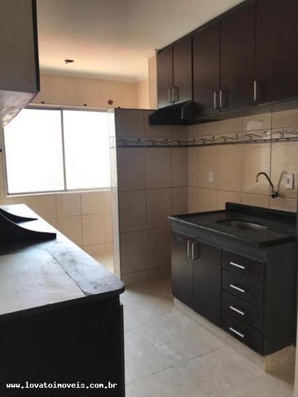 Apartamento Para Venda Em Santo André, Jardim Alzira Franco, 2 Dormitórios, 1 Banheiro, 1 Vaga - Elc01808