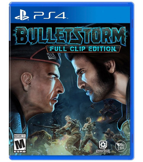 Bulletstorm Full Clip Edition - Mídia Física - Ps4 - Novo