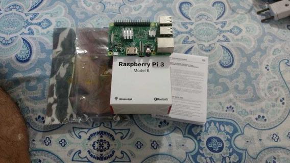 Raspberry Pi 3 B + Case + Coler Já Vai Montada Na Case