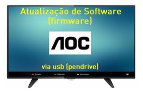 Atualização De Software Firmware Para Tv Aoc Le32m1475