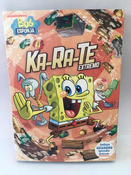 Bob Esponja Dvd Karate Extremo Como Nueva Español
