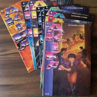 Kit 10 Revistas Frete Grátis - Akira, Números 15 A 24