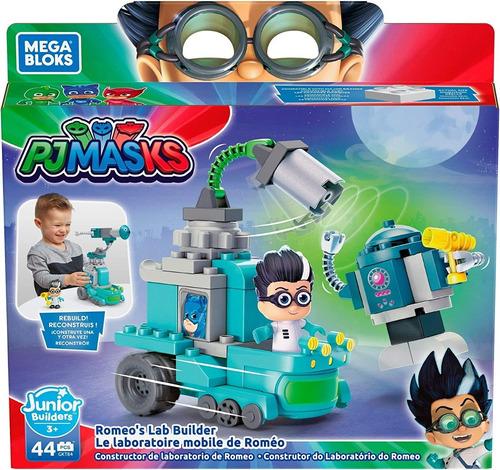 Pjmasks Mb- Construtor Do Laboratório Do Romeo  44 Peças