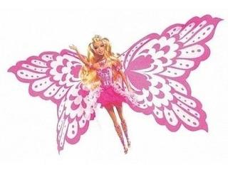 Barbie Original Elina Hada Transforma Alas En Cola Sirena
