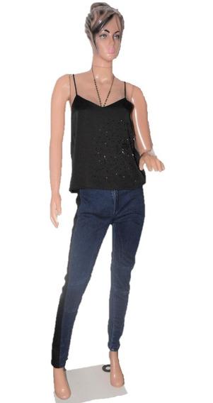 Allo Martinez Pantalon De Jean Modelo Nina Bien Elastizado