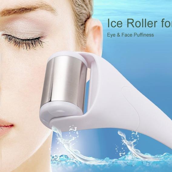 Derma Roller Ice Cool Skin Massageador Para Face E Corpo