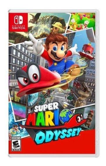 Super Mario Odyssey Nintendo Switch - Mídia Física Impecável