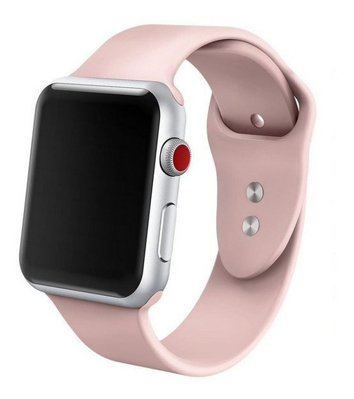 Pulseira Apple Watch Silicone 38mm 40mm 42mm 44mm Promoção!!