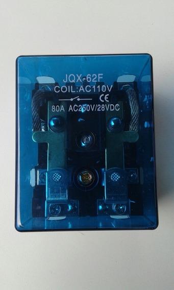 Relé Jqx-62f-80a 2z 110v
