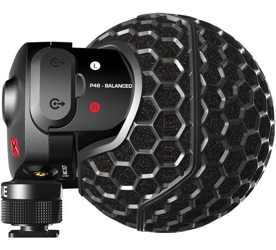 Microfone De Câmera Condensador Stereo Videomic X - Rode