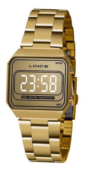 Relógio Lince Led Feminino Mdg4644l Cxkx