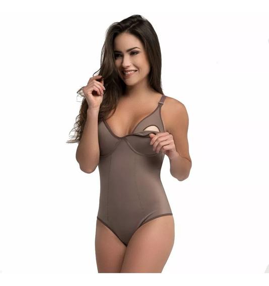 Body Amamentação Modeladora Redutora Cinta S/ Bojo Pos Parto