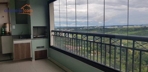 Apto 3 Dorms, Suite, Lazer, 2 Vagas, Andar Alto, Novo, Na Av. Cidade Jardim - Ap8162