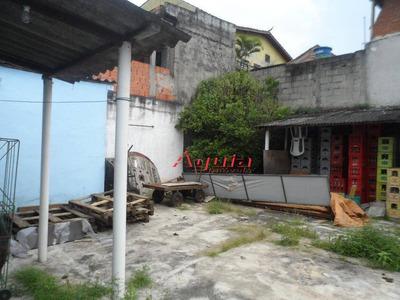 Terreno Residencial À Venda, Vila Linda, Santo André. - Te0110