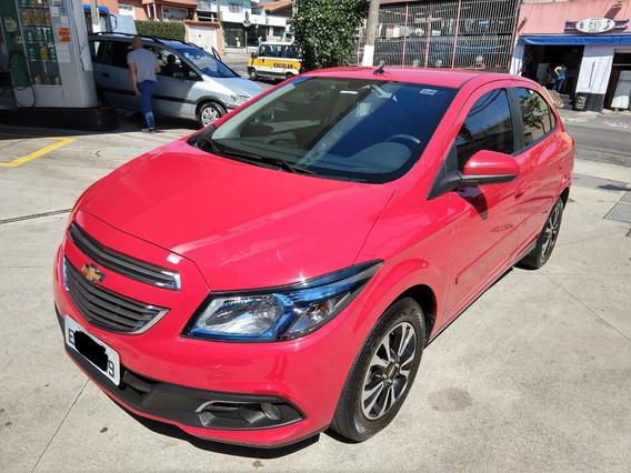 Chevrolet Onix Ltz 1.4 2014 Vermelho 5 Portas Flex Automátic