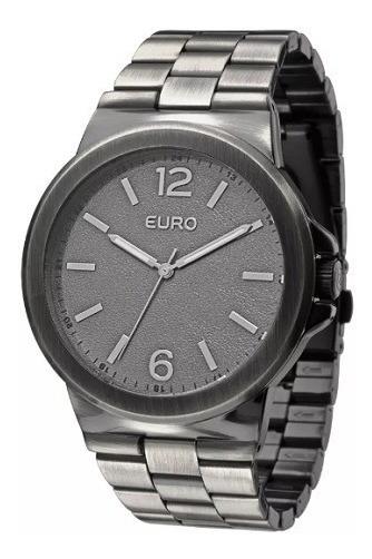 Relógio Euro Analógico Preto Feminino Eu2036aje/3c Original