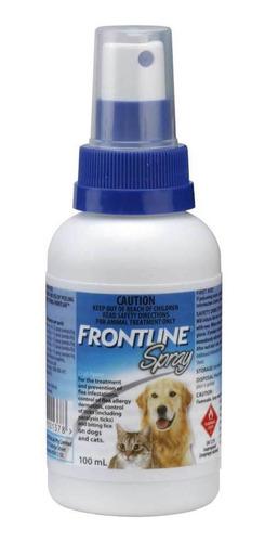 Frontline Spray 100 Ml Contra Pulgas Garrapatas Perros Gatos