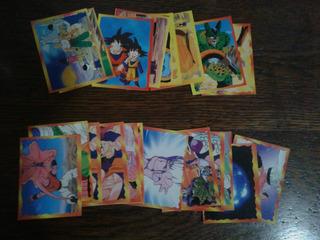 Lote 20 Figuritas Dragon Ball 3, 4 Y 5. Sin Pegar
