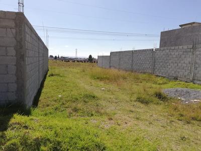 Terreno Cercano A Central De Abastos Y Pista México Puebla