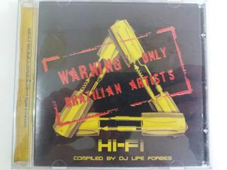 Cd-hi Fi-warning:only Brazilian Artists-em Otimo Estado