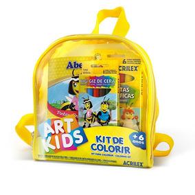 Kit De Colorir Art Kids - Acrilex