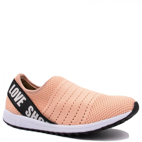 Tênis Feminino Bebecê Malha Summer Love Shoes 1314-351