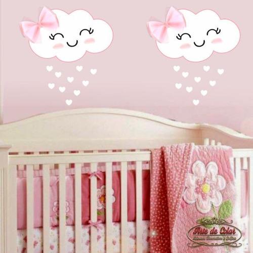Imagem 1 de 1 de Adesivo De Parede Infantil Nuvens Do Amor