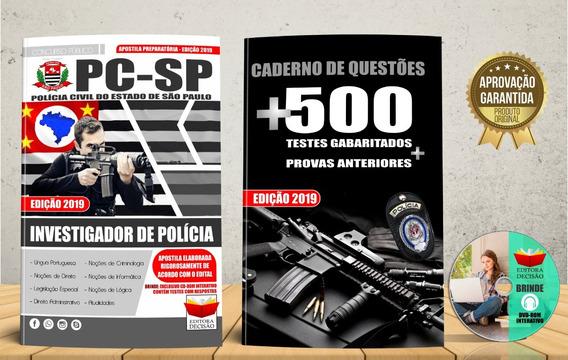 Polícia Civil-sp Investigador De Polícia-edição 2019