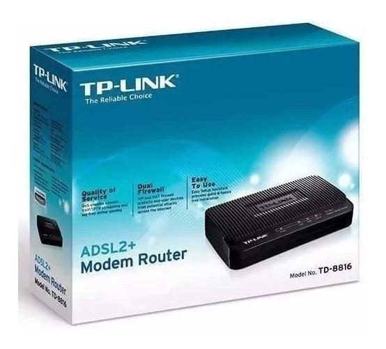 Modem Router Td 8816