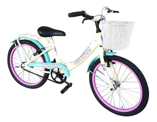 Bicicleta Nena Rodado 20 Paseo Varios Colores